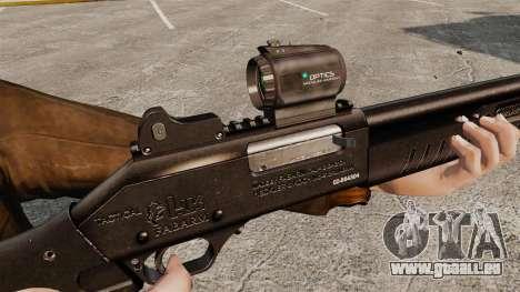 Taktische Schrotflinte Fabarm SDASS Pro Forces v für GTA 4 weiter Screenshot