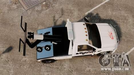 Ford F-550 Towtruck Rapid Towing [ELS] für GTA 4 rechte Ansicht