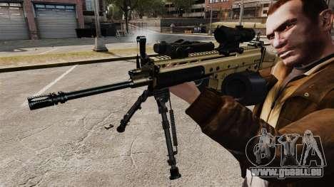 Machine d'assaut FN SCAR-L pour GTA 4 quatrième écran