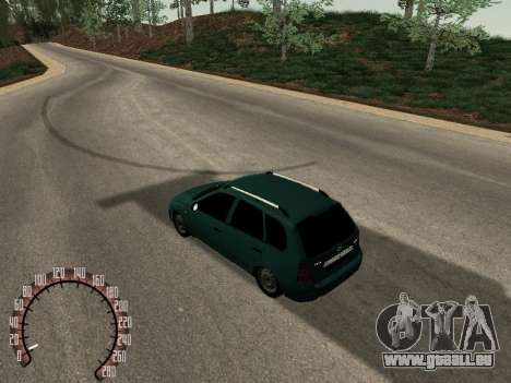 Lada 1117 Kalina für GTA San Andreas zurück linke Ansicht