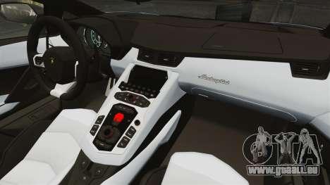 Lamborghini Aventador LP700-4 2012 EPM pour GTA 4 Vue arrière de la gauche
