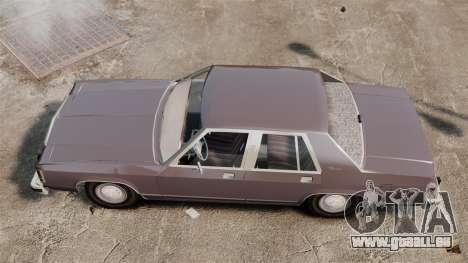 Ford LTD Crown Victoria pour GTA 4 est un droit