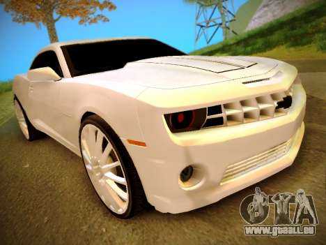 Chevrolet Camaro SS Tuning pour GTA San Andreas