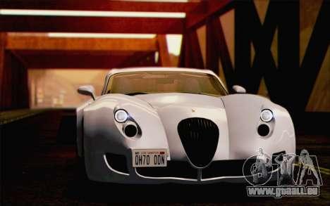 Wiesmann GT MF5 2010 für GTA San Andreas Innen
