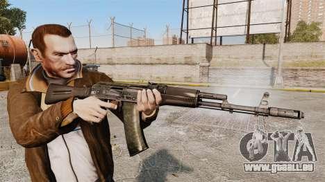 AK-74M pour GTA 4