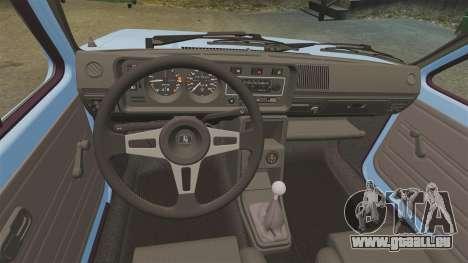 Volkswagen Golf MK1 GTI ToneBee EDITED für GTA 4 Rückansicht