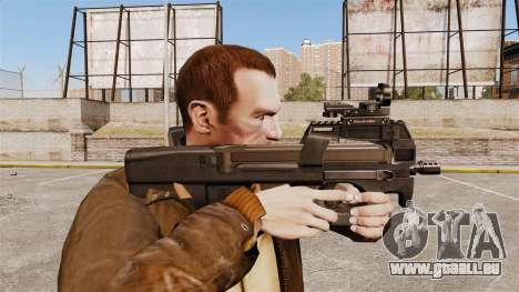 Pistolet mitrailleur P90 FN pour GTA 4