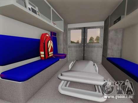 Dodge Ram Ambulance BCFD Paramedic 100 pour GTA San Andreas salon