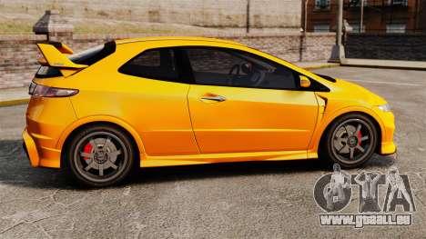 Honda Civic Type-R (FN2) pour GTA 4 est une gauche
