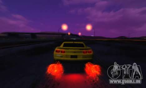 Cool SkyBox pour GTA San Andreas troisième écran