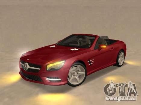 Mercedes-Benz SL500 2013 (ImVehFt v2.02) für GTA San Andreas rechten Ansicht