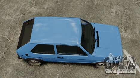 Volkswagen Golf MK1 GTI ToneBee EDITED für GTA 4 rechte Ansicht