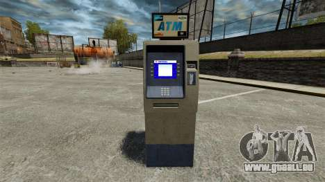 Banque d'Amérique ATM v 2.0 pour GTA 4 secondes d'écran