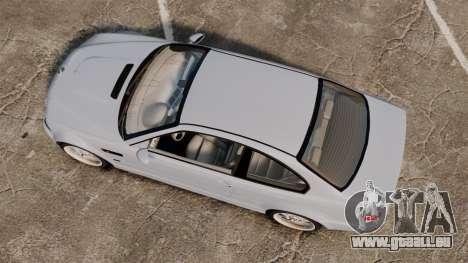 BMW M3 E46 v1.1 pour GTA 4 est un droit