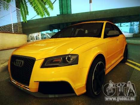 Audi RS3 2013 für GTA San Andreas