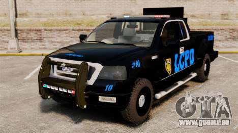 Ford F-150 v3.3 LCPD Auxiliary [ELS & EPM] v1 pour GTA 4