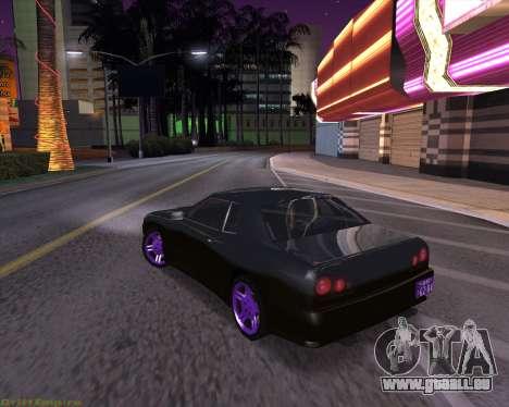 Elegy by Xtr.dor v2 für GTA San Andreas zurück linke Ansicht