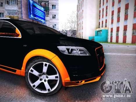 ABT AS7 V1.0 2009 pour GTA San Andreas laissé vue