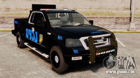 Ford F-150 v3.3 LCPD Auxiliary [ELS & EPM] v3 pour GTA 4