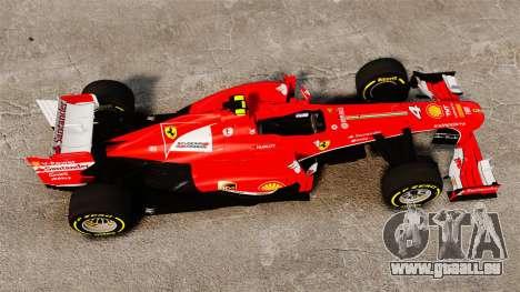Ferrari F138 2013 v5 pour GTA 4 est un droit
