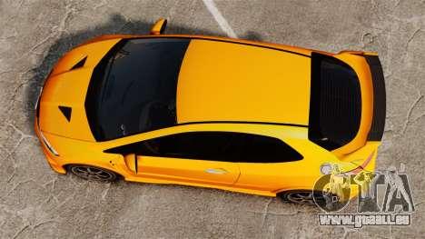 Honda Civic Type-R (FN2) pour GTA 4 est un droit
