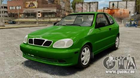 Daewoo Lanos FL 2001 US pour GTA 4