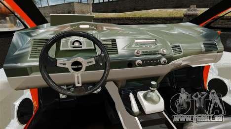 Honda Civic Type-R (Mugen RR) pour GTA 4 Vue arrière