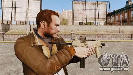 MP9 mitraillette tactique v4 pour GTA 4