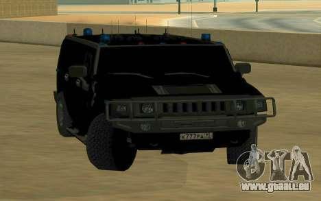 Hummer H2 für GTA San Andreas