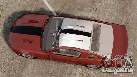 Ford Mustang Saleen SA-25 2008 pour GTA 4 est un droit