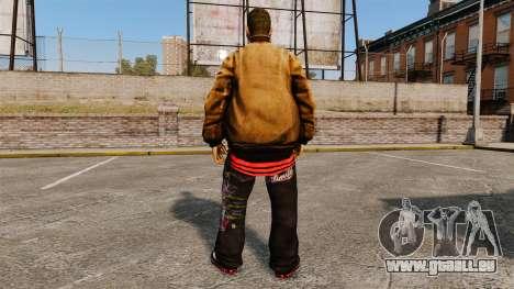Domdrug PED de TBoGT pour GTA 4 sixième écran