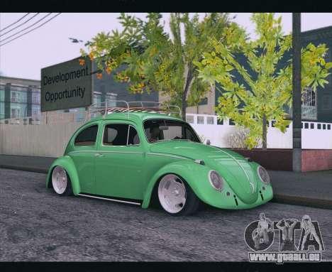 Volkswagen Beetle 1966 für GTA San Andreas