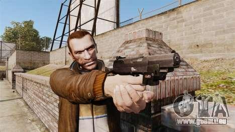 Pistolet Self-loading FN Five-seveN v1 pour GTA 4 troisième écran