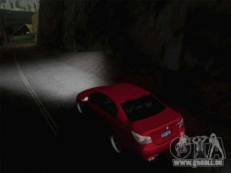 Phares Middle et high beam pour GTA San Andreas deuxième écran