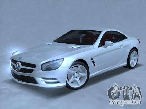 Mercedes-Benz SL500 2013 (ImVehFt v2.02) für GTA San Andreas linke Ansicht
