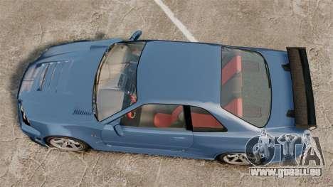 Nissan Skyline R34 GT-R Z-tune für GTA 4 rechte Ansicht