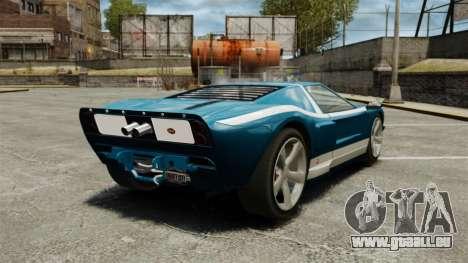 Nouvelle Bullet GT pour GTA 4 Vue arrière de la gauche