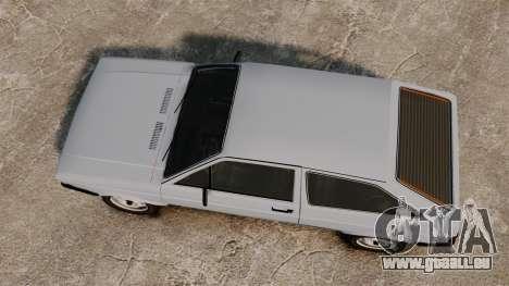 Volkswagen Gol LS 1986 pour GTA 4 est un droit