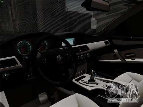 BMW M5 Hamann pour GTA San Andreas moteur