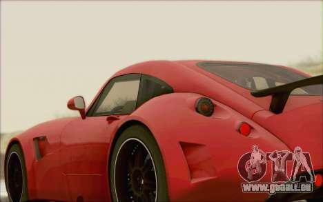 Wiesmann GT MF5 2010 für GTA San Andreas Rückansicht