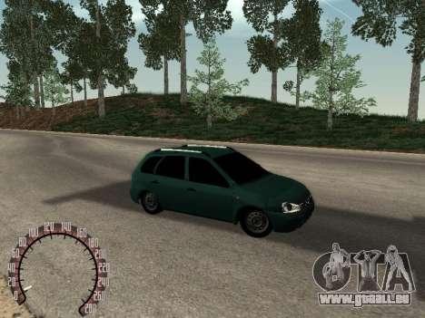 Lada 1117 Kalina für GTA San Andreas rechten Ansicht