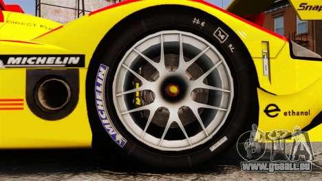 Porsche RS Spyder Evo pour GTA 4 Vue arrière