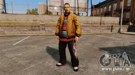 Domdrug PED de TBoGT pour GTA 4 cinquième écran