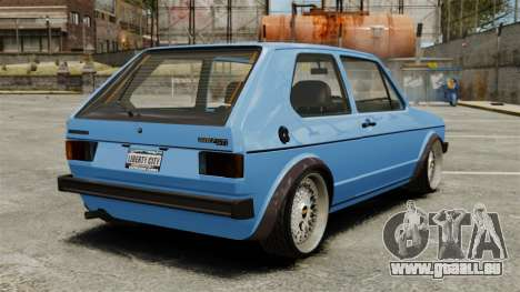 Volkswagen Golf MK1 GTI ToneBee EDITED für GTA 4 hinten links Ansicht