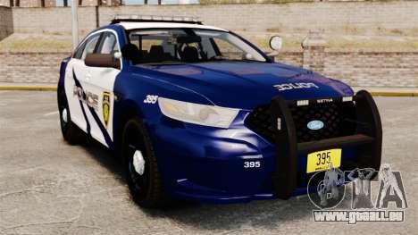 Ford Taurus Police Interceptor 2013 LCPD [ELS] für GTA 4