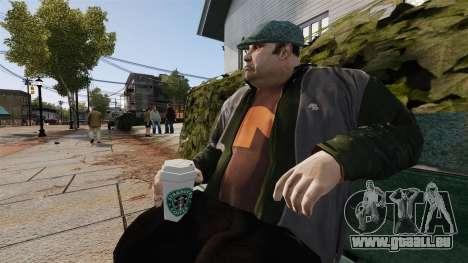 Une nouvelle tasse de café pour GTA 4 secondes d'écran