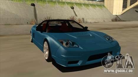 Honda NSX für GTA San Andreas linke Ansicht