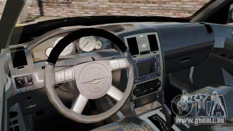 Chrysler 300C Pimped pour GTA 4 Vue arrière