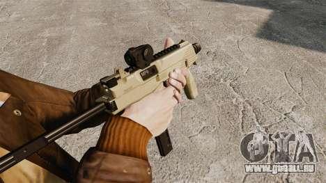 MP9 Maschinenpistole taktische v4 für GTA 4 Sekunden Bildschirm