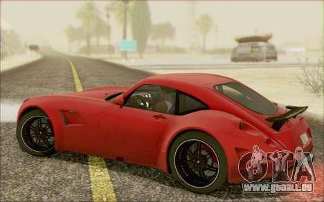 Wiesmann GT MF5 2010 für GTA San Andreas Innenansicht